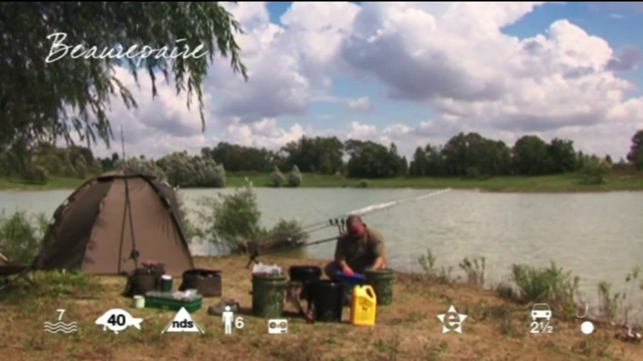 Beaurepaire – carp fishing holiday in France