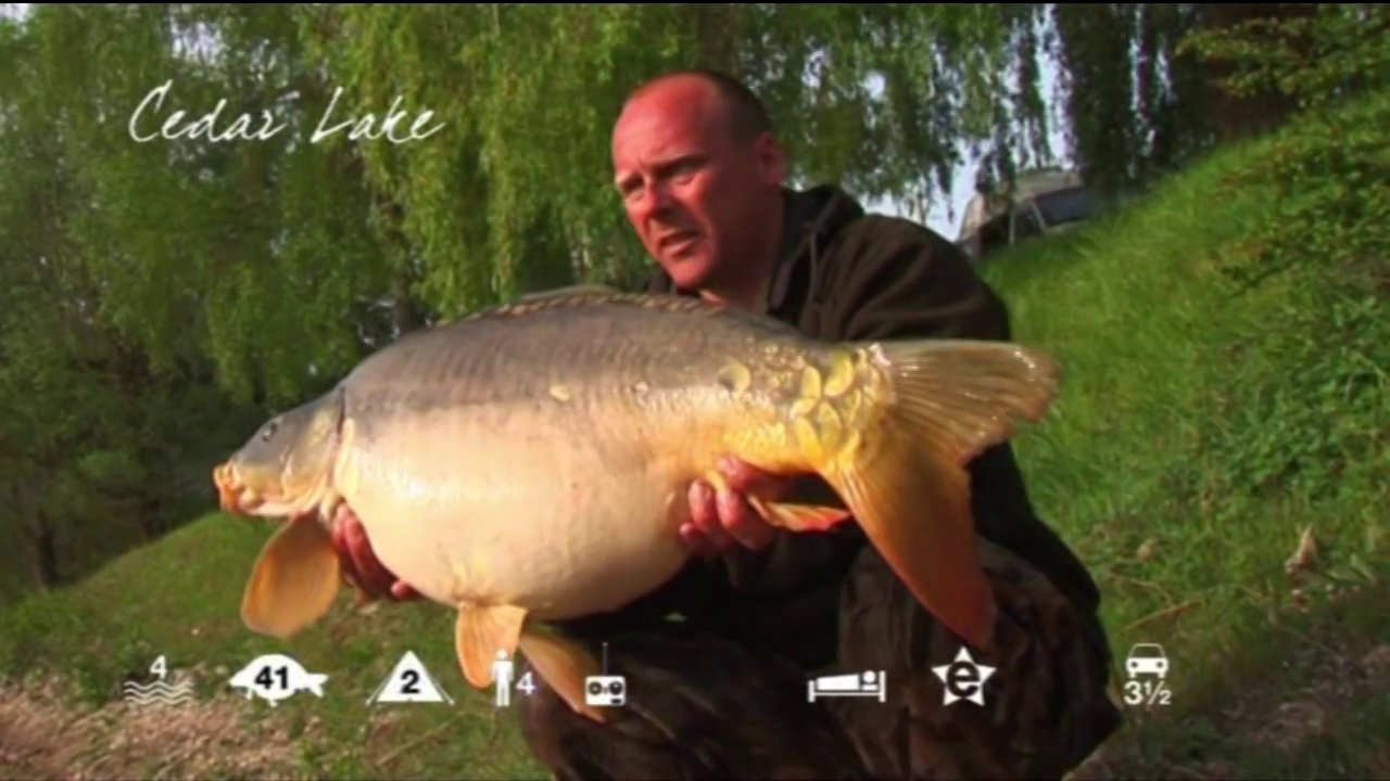 Cedar Lake – carp fishing in France