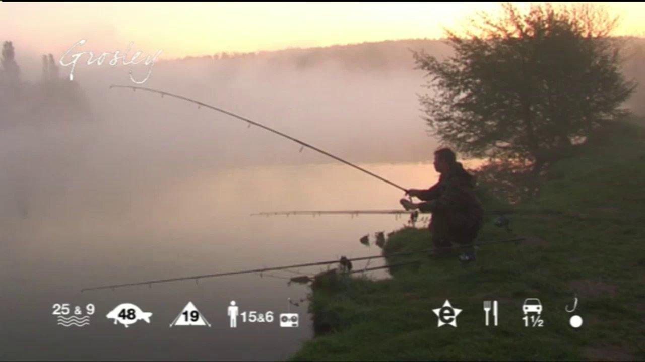 Grosley - Carp fishing holidays in France