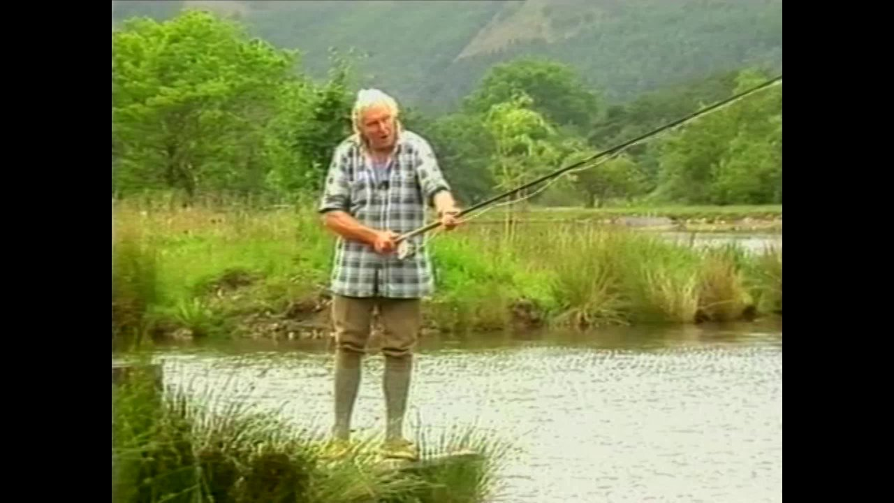 Hugh Falkus on spey fly casting