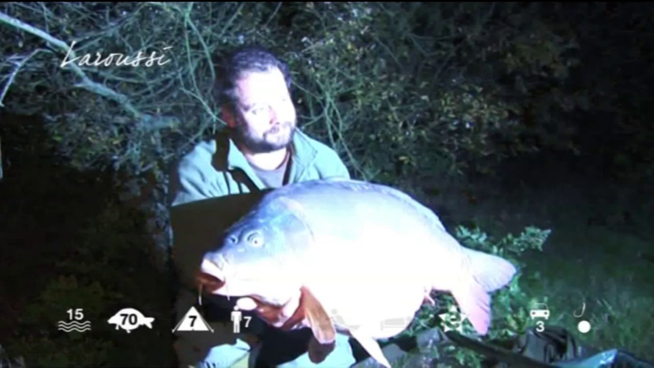 Laroussi – carp fishing holidays in France
