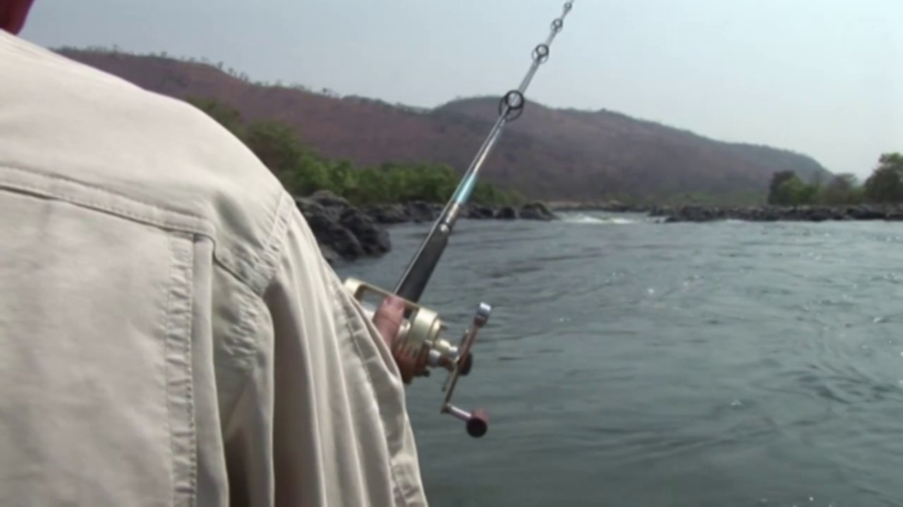 Mahseer fishing on the river Cauvery India