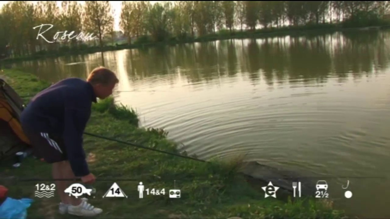 Roseau - carp fishing holidays in France