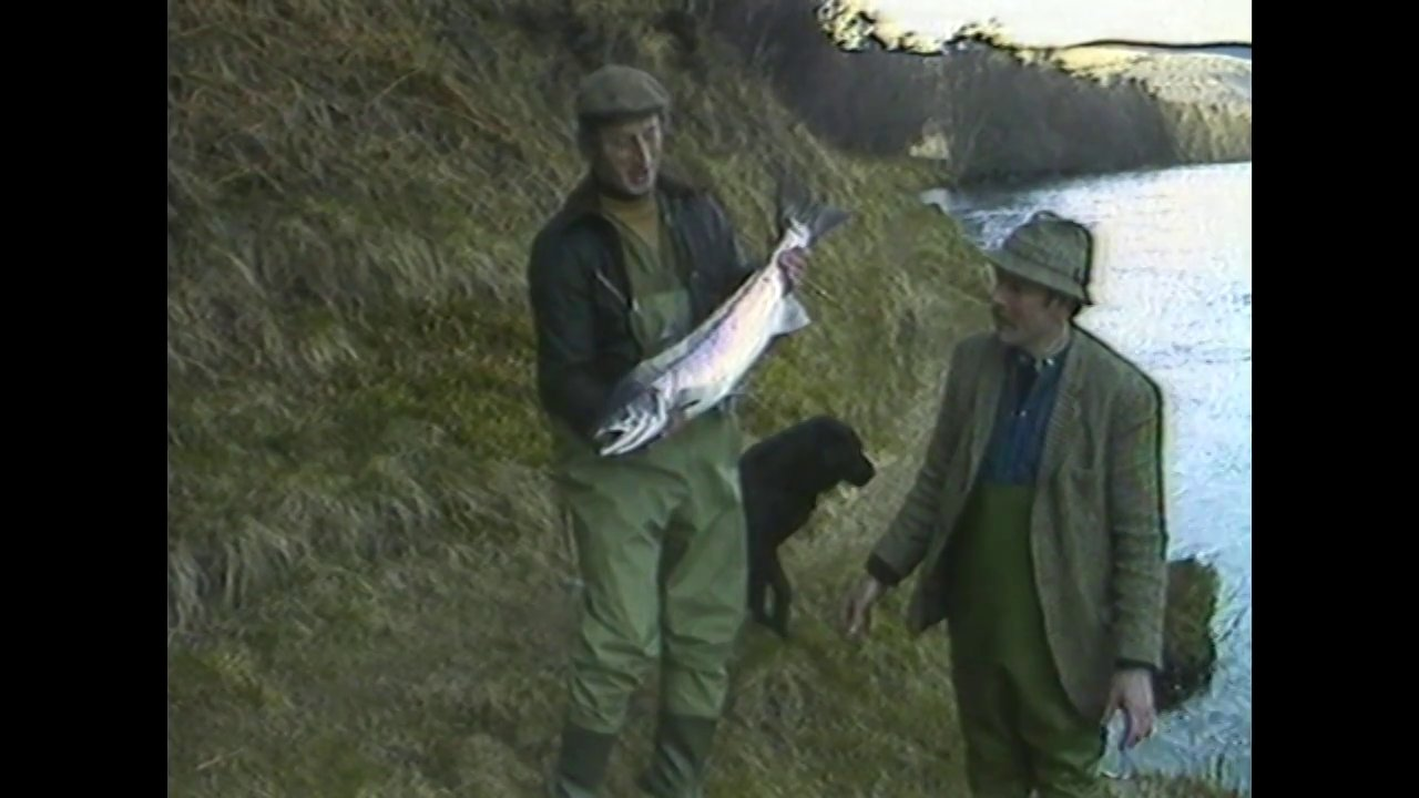 Spay Salmon - John Andrew explains the art of spey casting