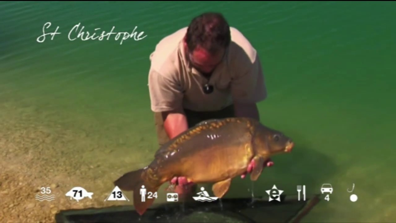 St Christophe – carp fishing holiday in France