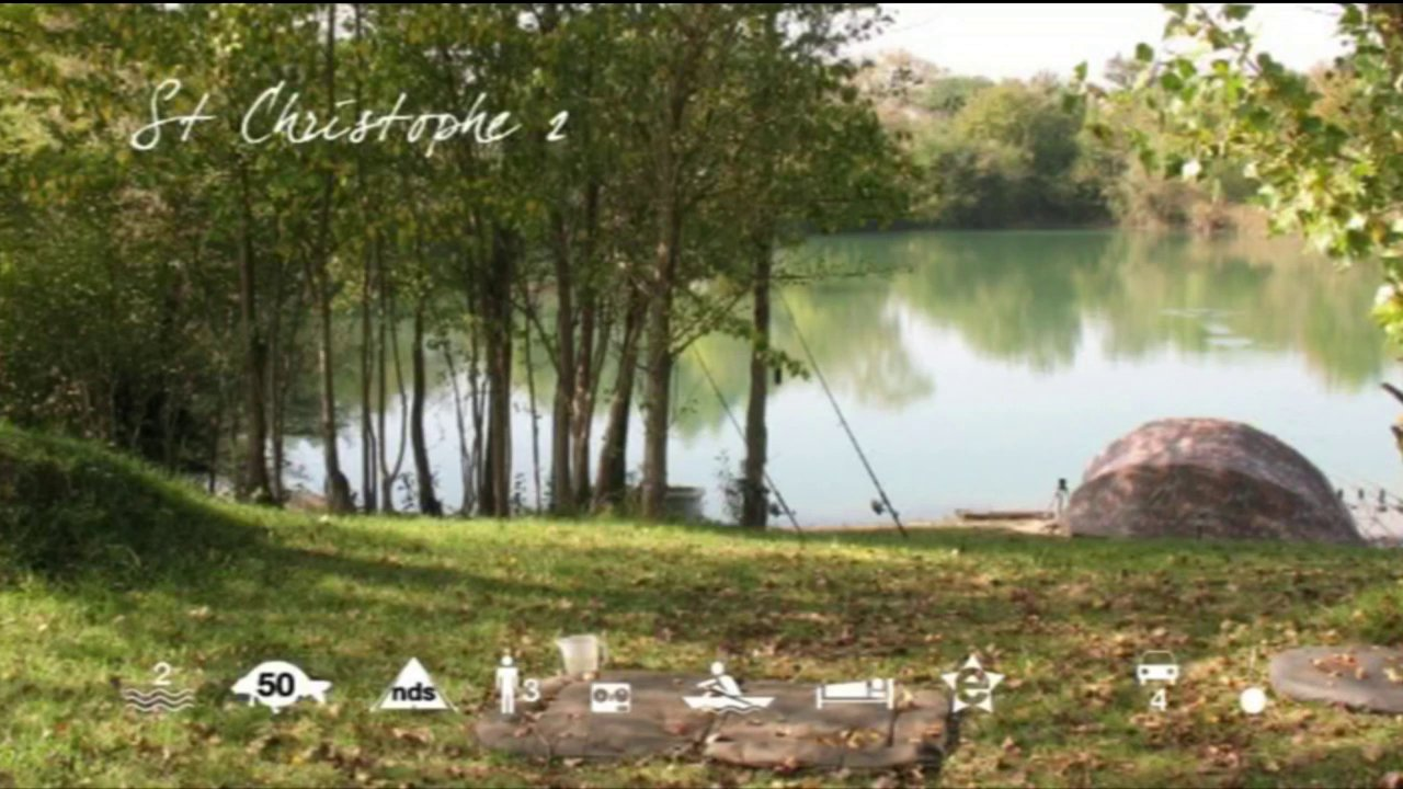 St Christophe - carp fishing in France