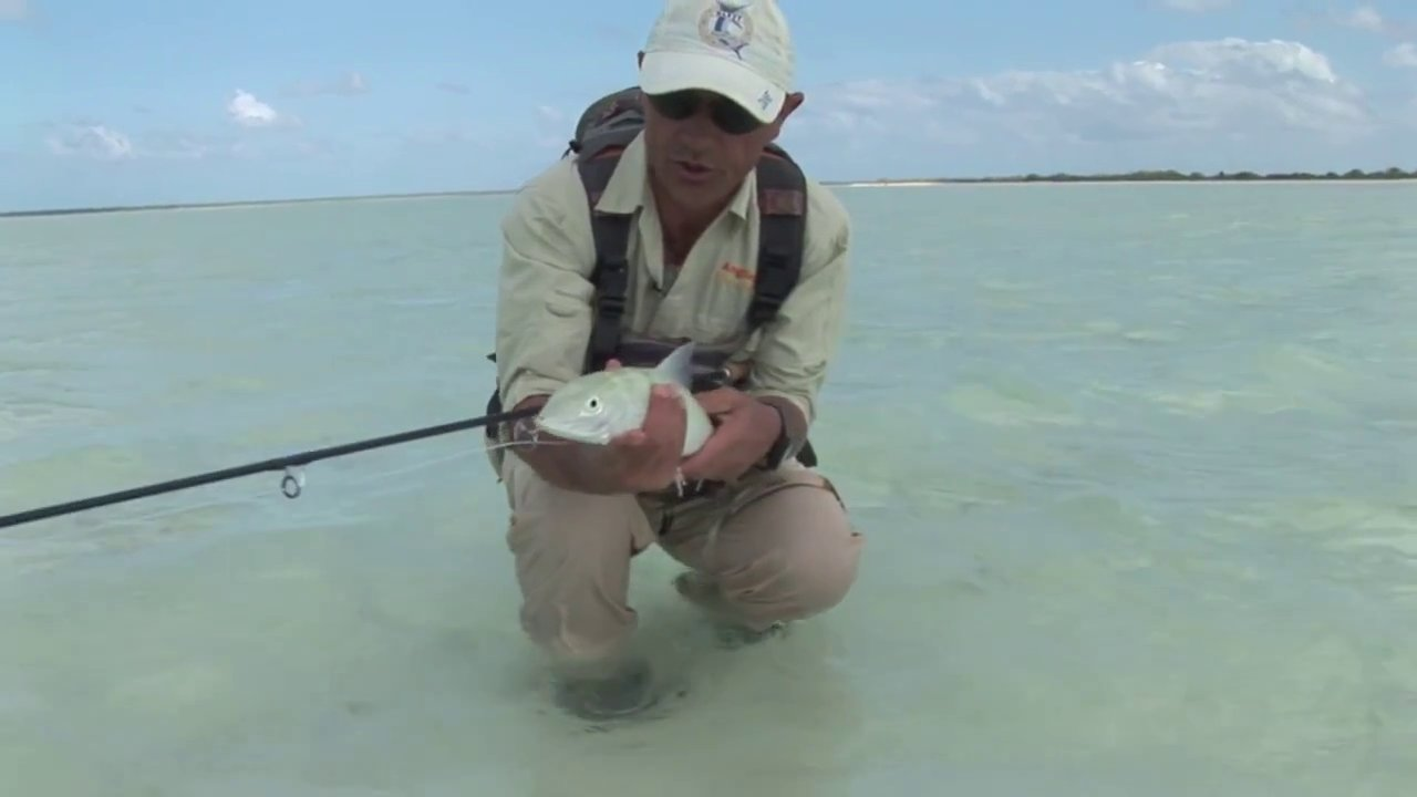 Fishing for Bonefish on Christmas Island