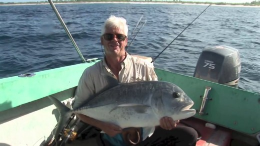 Adrenaline Fueled GT Fishing on Christmas Island