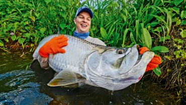 Fly fishing for Tarpon in Nicaragua