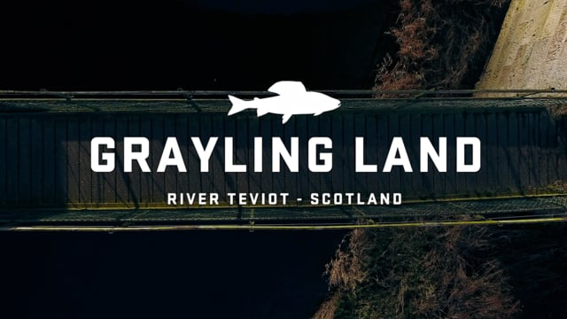 Fishing for Grayling on the river Teviot